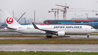 JA621J - Boeing 767-346(ER) - Japan Airlines (JAL)