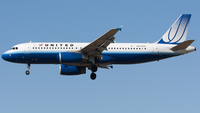 N479UA - Airbus A320-232 - United Airlines