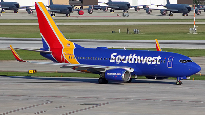 A picture of N954WN - Boeing 7377H4 - Southwest Airlines - © Chrisjake