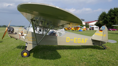 D-EGAF - Piper J-3C-65 Cub - Private