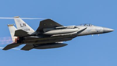 86-0174 - McDonnell Douglas F-15C Eagle - United States - US Air Force (USAF)