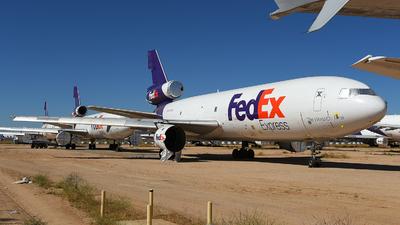 N375FE - McDonnell Douglas MD-10-10(F) - FedEx