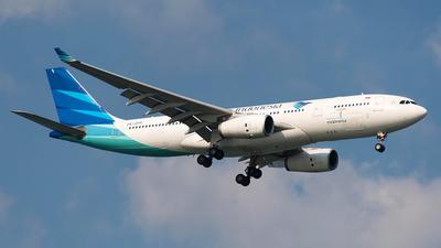 PK-GPK - Airbus A330-243 - Garuda Indonesia