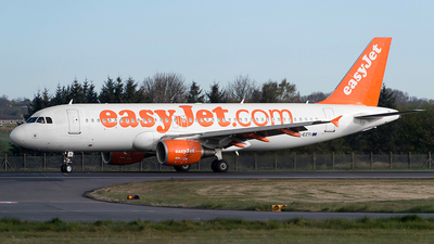 G-EZTI - Airbus A320-214 - easyJet