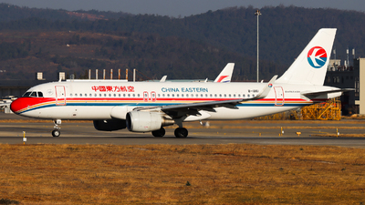 A picture of B1861 - Airbus A320214 - China Eastern Airlines - © PPengpeng