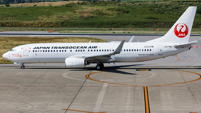 JA07RK - Boeing 737-8Q3 - Japan TransOcean Air (JTA)
