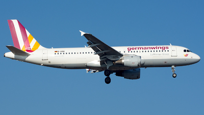 D-AIQK - Airbus A320-211 - Germanwings