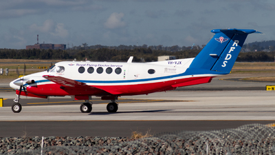 VH-VJX - Beechcraft 200 Super King Air - Royal Flying Doctor Service of Australia (Queensland Section)