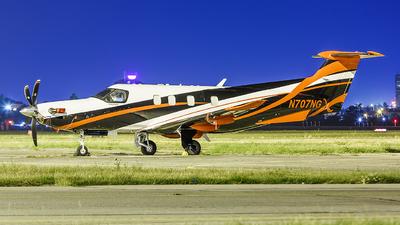 N707NG - Pilatus PC-12 NGX - Private