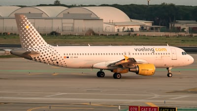EC-MAX - Airbus A320-214 - Vueling