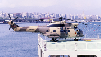 A4O-AX - Aérospatiale SA 330J Puma - Oman - Royal Flight