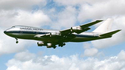 N9666 - Boeing 747-123 - National Airlines