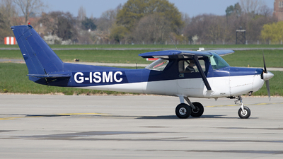 G-ISMC - Reims-Cessna F152 - Stapleford Flying Club