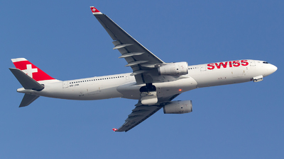 A picture of HBJHA - Airbus A330343 - Swiss - © Bora Polater