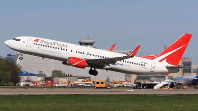 VP-BGZ - Boeing 737-86J - Royal Flight