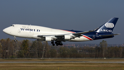 N741WA - Boeing 747-4H6(BDSF) - World Airways