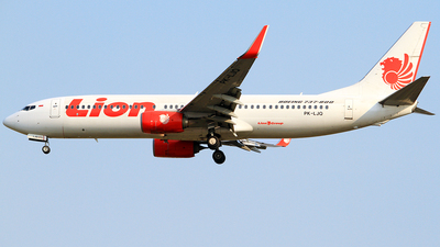 PK-LJQ - Boeing 737-8GP - Lion Air