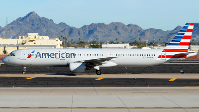 A picture of N154UW - Airbus A321211 - American Airlines - © Jason Whitebird