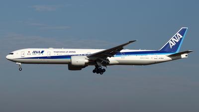 A picture of JA795A - Boeing 777300(ER) - All Nippon Airways - © Yoshiharu Ozaki