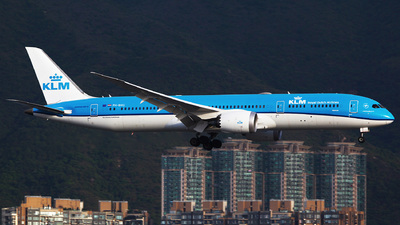 A picture of PHBHG - Boeing 7879 Dreamliner - KLM - © Ching Ho