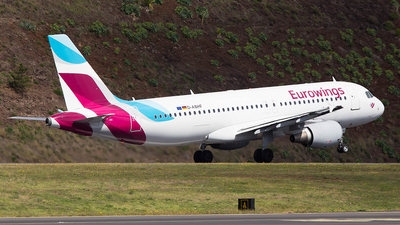 A picture of DABHF - Airbus A320214 - Eurowings - © Alex Maio