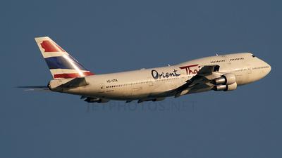 HS-UTN - Boeing 747-346 - Orient Thai Airlines