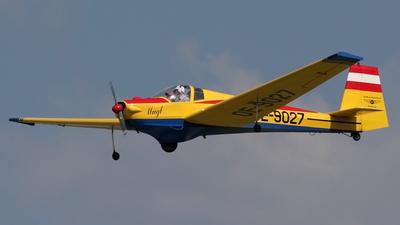 OE-9027 - Scheibe SF.25B Falke - Luftsportverband Salzburg