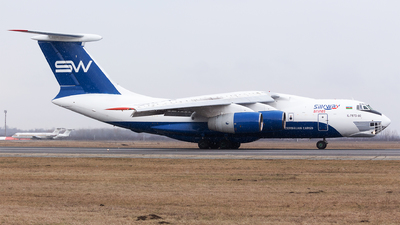 4K-AZ100 - Ilyushin IL-76TD-90VD - Silk Way Airlines