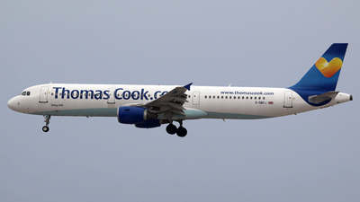 G-OMYJ - Airbus A321-211 - Thomas Cook Airlines