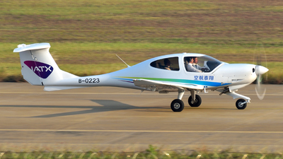 B-0223 - Diamond DA-40D Diamond Star - Xiangtai Airlines