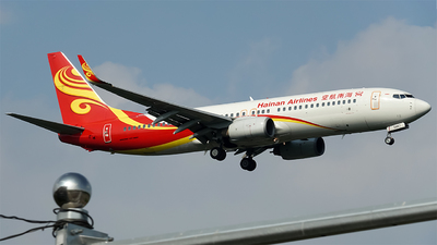 A picture of B5467 - Boeing 73784P - Hainan Airlines - © blossom