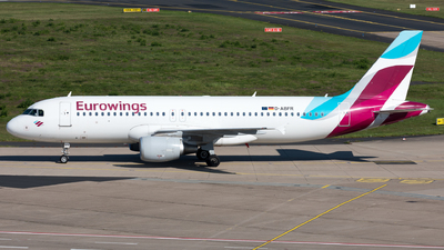 D-ABFR - Airbus A320-214 - Eurowings