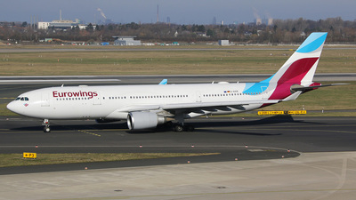 D-AXGE - Airbus A330-202 - Eurowings (SunExpress Germany)