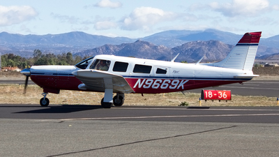 A picture of N9669K - Piper PA32R300 - [32R7680240] - © Jeremy D. Dando