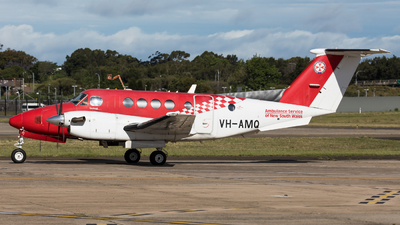 A picture of VHAMQ - Beech B200C Super King Air - [BL166] - © Rory Delaney