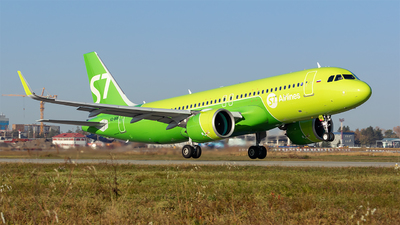 VQ-BRB - Airbus A320-271N - S7 Airlines