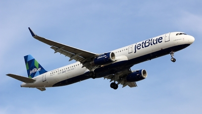 N942JB - Airbus A321-231 - jetBlue Airways