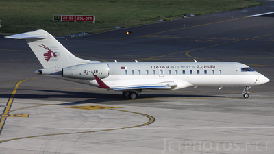 A7-AAM - Bombardier BD-700-1A10 Global Express - Qatar - Amiri Flight