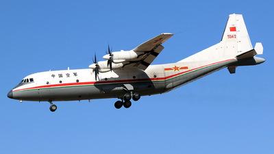 55412 - Shaanxi Y-9 - China - Air Force