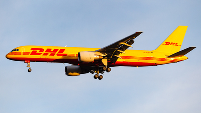 A picture of DALEQ - Boeing 7572Q8(PCF) - DHL - © Tom Heinze