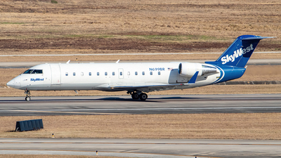 A picture of N699BR - Mitsubishi CRJ200LR - SkyWest Airlines - © Nick Hamilton