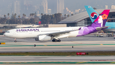 A picture of N379HA - Airbus A330243 - Hawaiian Airlines - © Issac