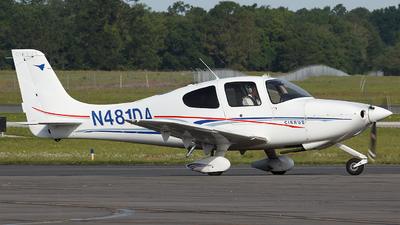 N481DA - Cirrus SR20 - Aerosim Flight Academy