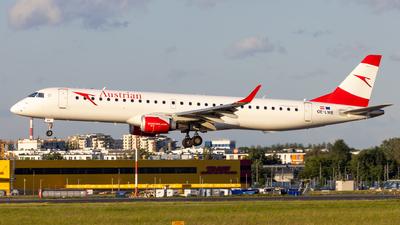 OE-LWE - Embraer 190-200LR - Austrian Airlines