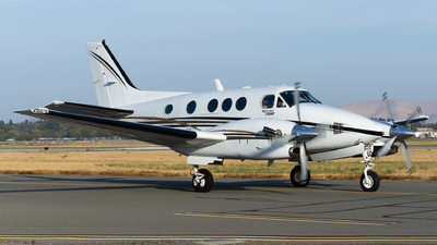 N3066W - Beechcraft C90A King Air - Private
