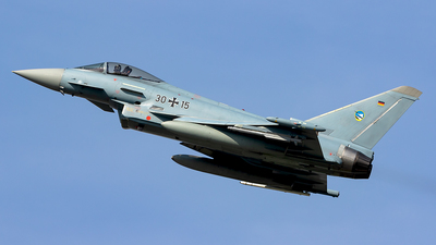 30-15 - Eurofighter Typhoon EF2000 - Germany - Air Force