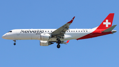 A picture of HBJVT - Embraer E190AR - Helvetic Airways - © Joost Alexander