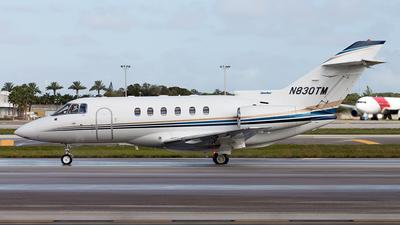 A picture of N830TM - Hawker 800XP - [258355] - © Sebastian Sowa