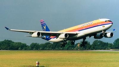 6Y-JMP - Airbus A340-313X - Air Jamaica