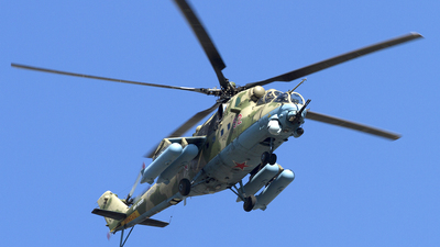 RF-13028 - Mil Mi-35M Hind - Russia - Air Force